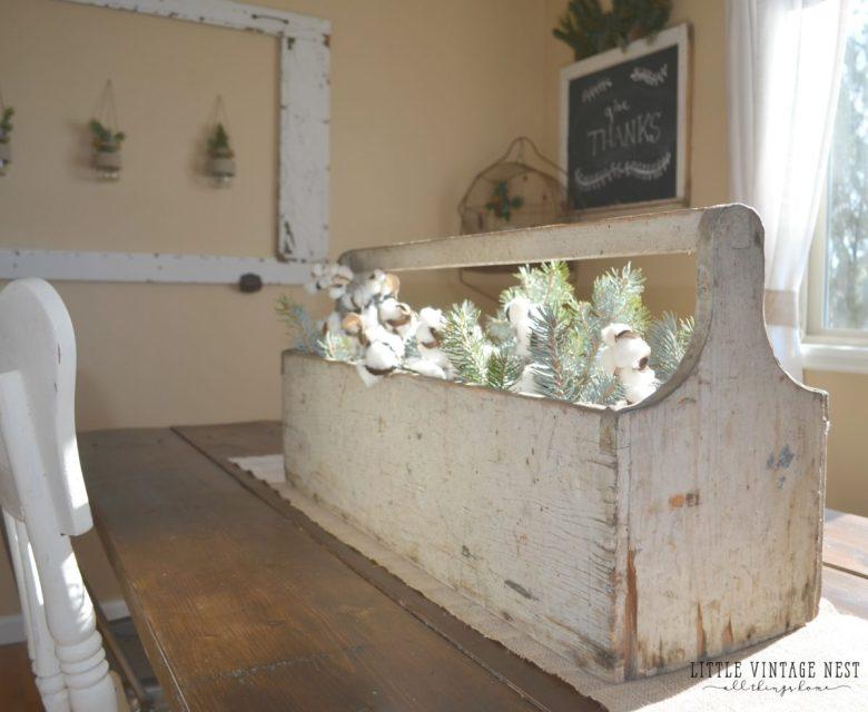 Winter Decor Tips & Tricks Farmhouse Style from Little Vintage Nest
