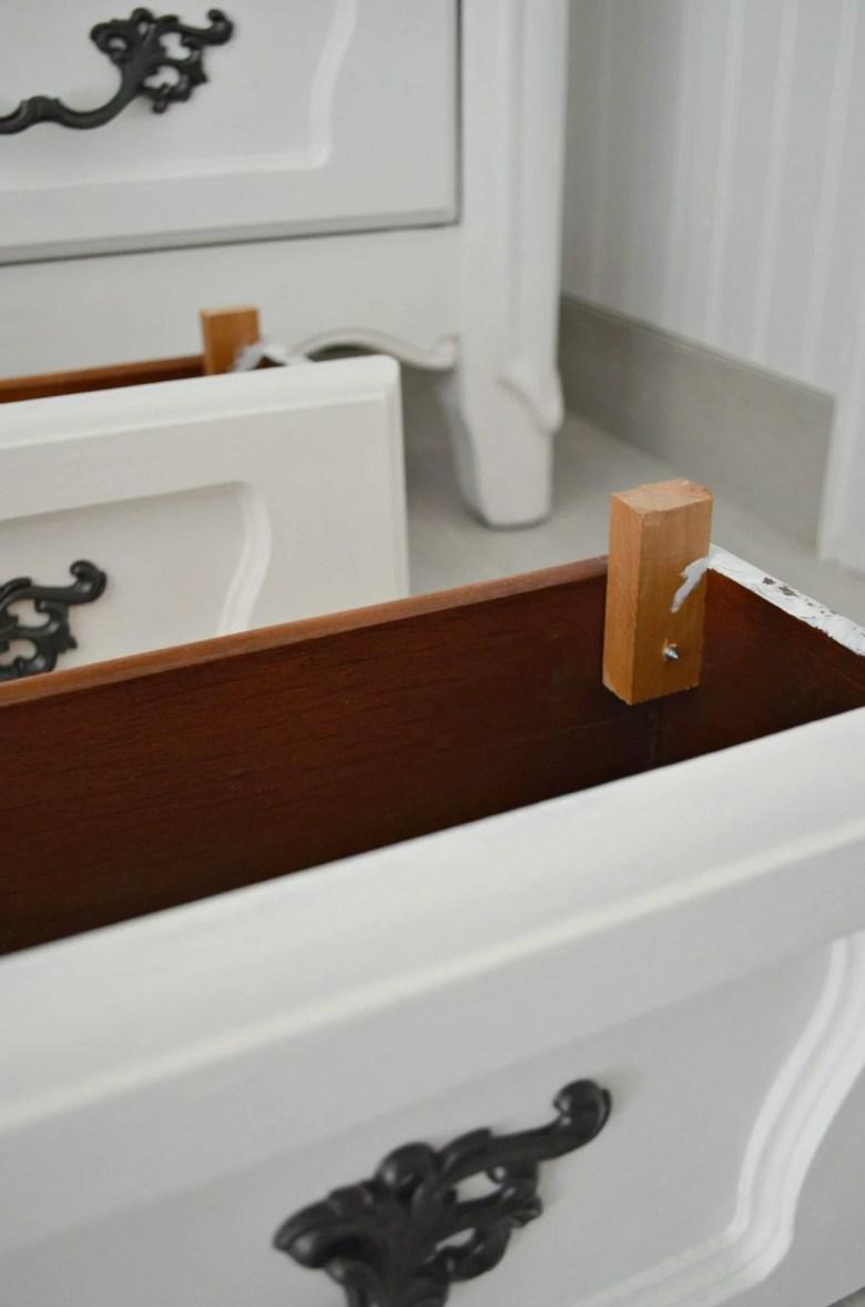Dresser Converted to Bathroom Vanity
