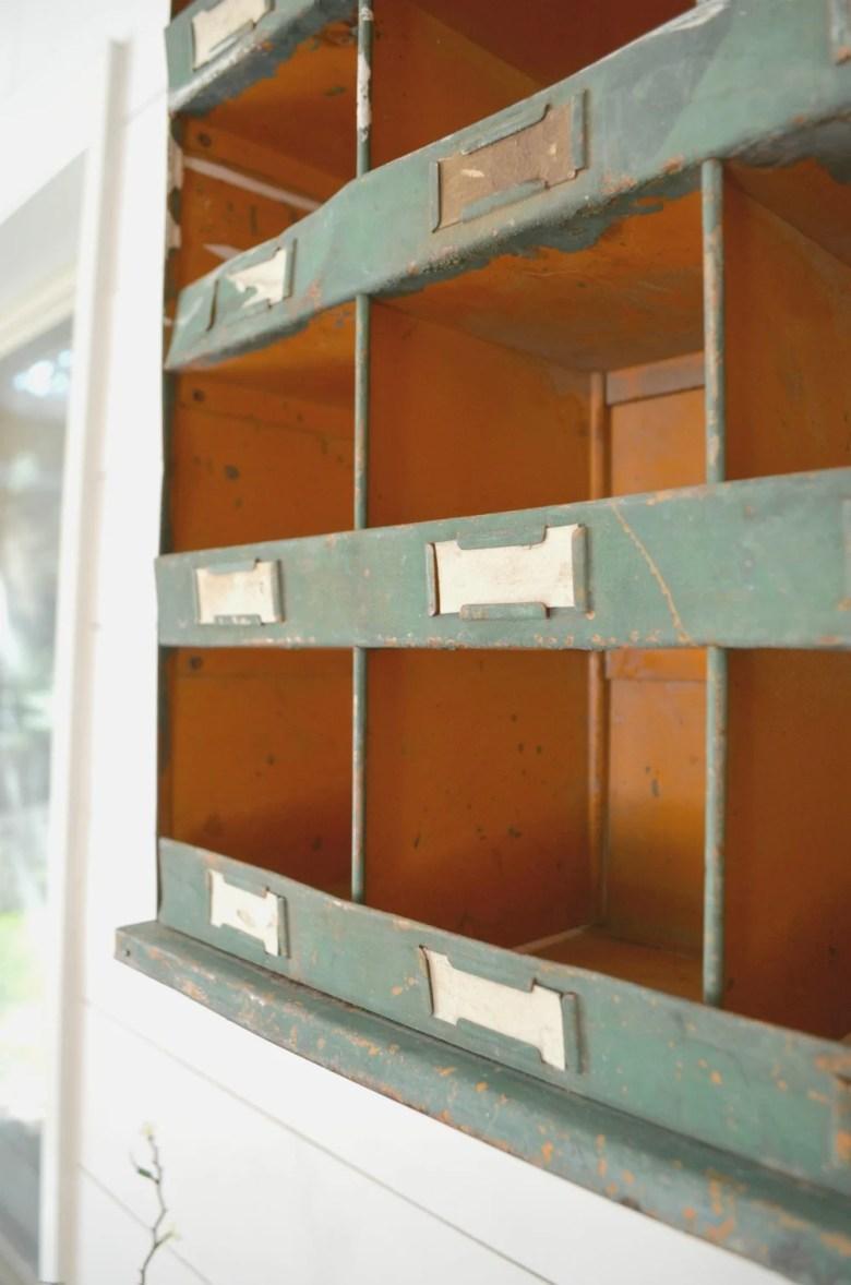 Vintage Mailbox Farmhouse Decor