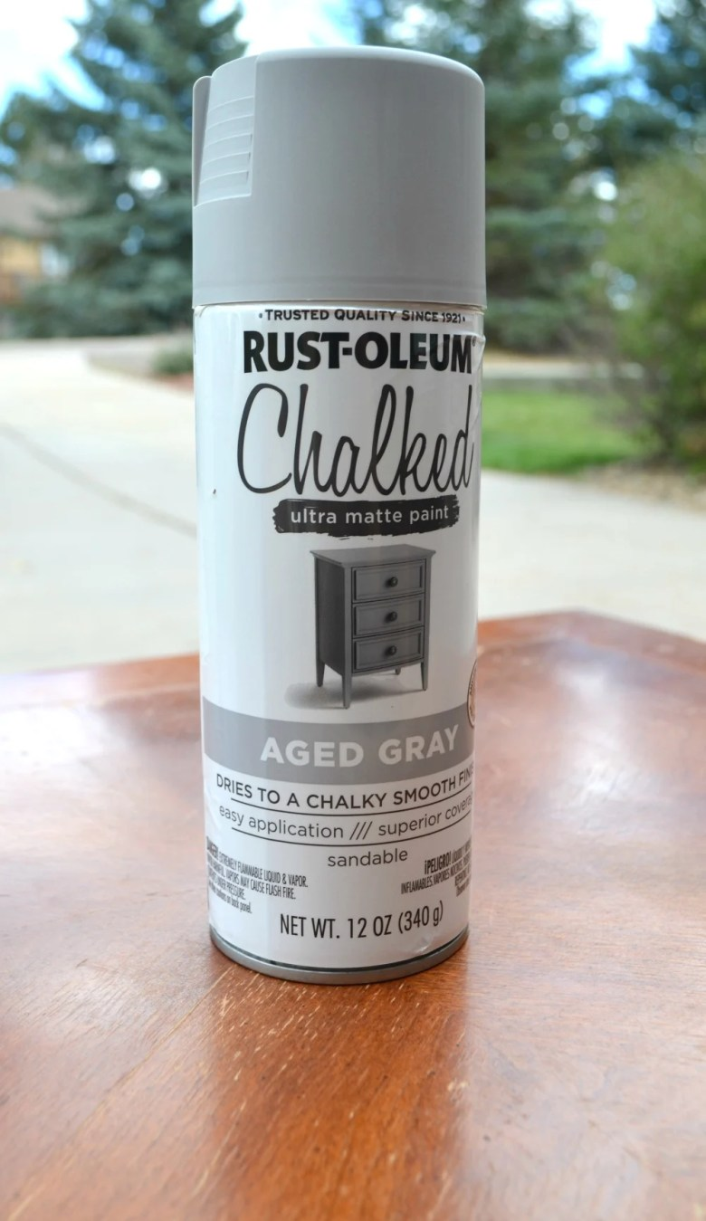 Review of Chalky Spray Paint