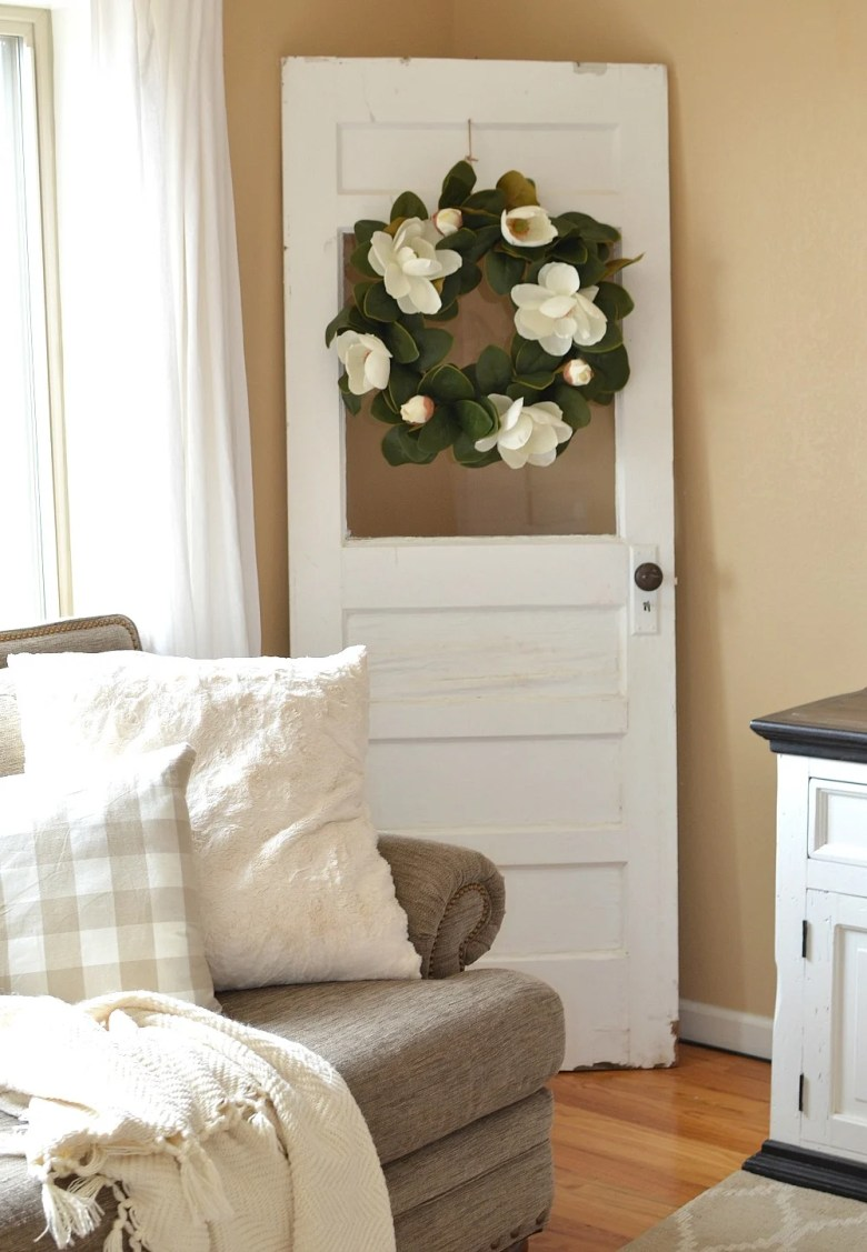 Quick Tip: How to Safely Secure a Vintage Door to the Wall