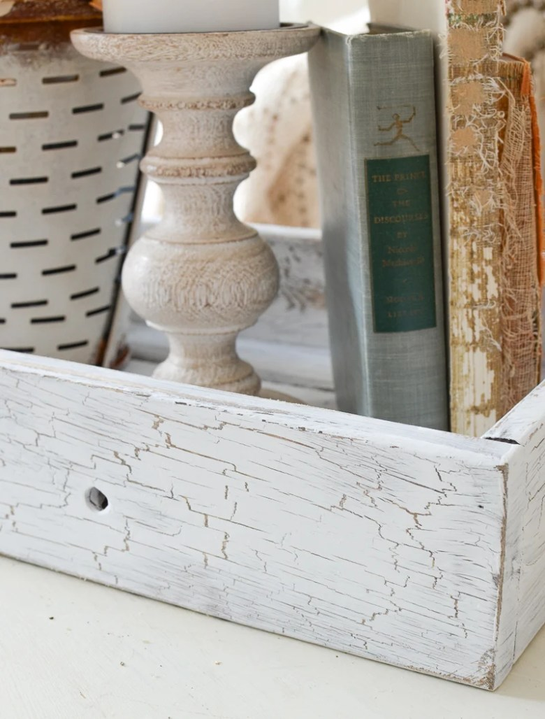 Easy DIY Cracked Paint Effect