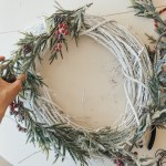 Diy Christmas Wreath In 3 Easy Steps