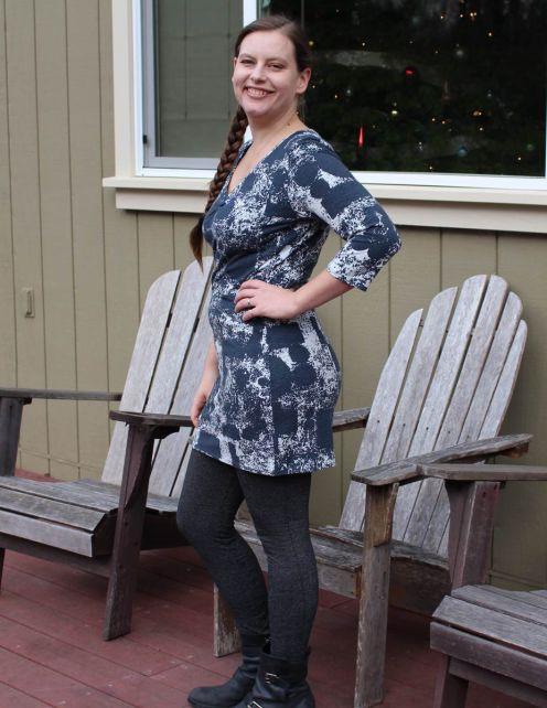 Grey-Bluegingerdoll-Violet-Dress