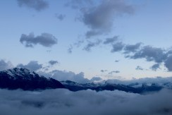 Living above the clouds.