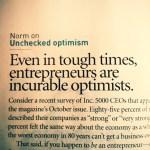 incurable optimists