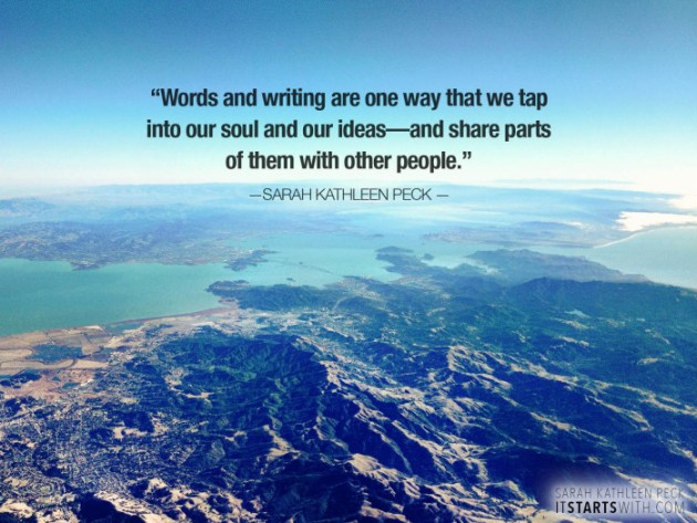 Words give us the power to share.