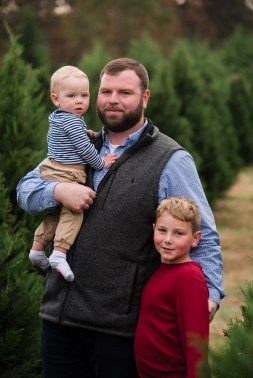 father and sons christmas tree farm