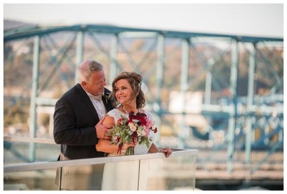 Chattanooga walnut street bridge wedding