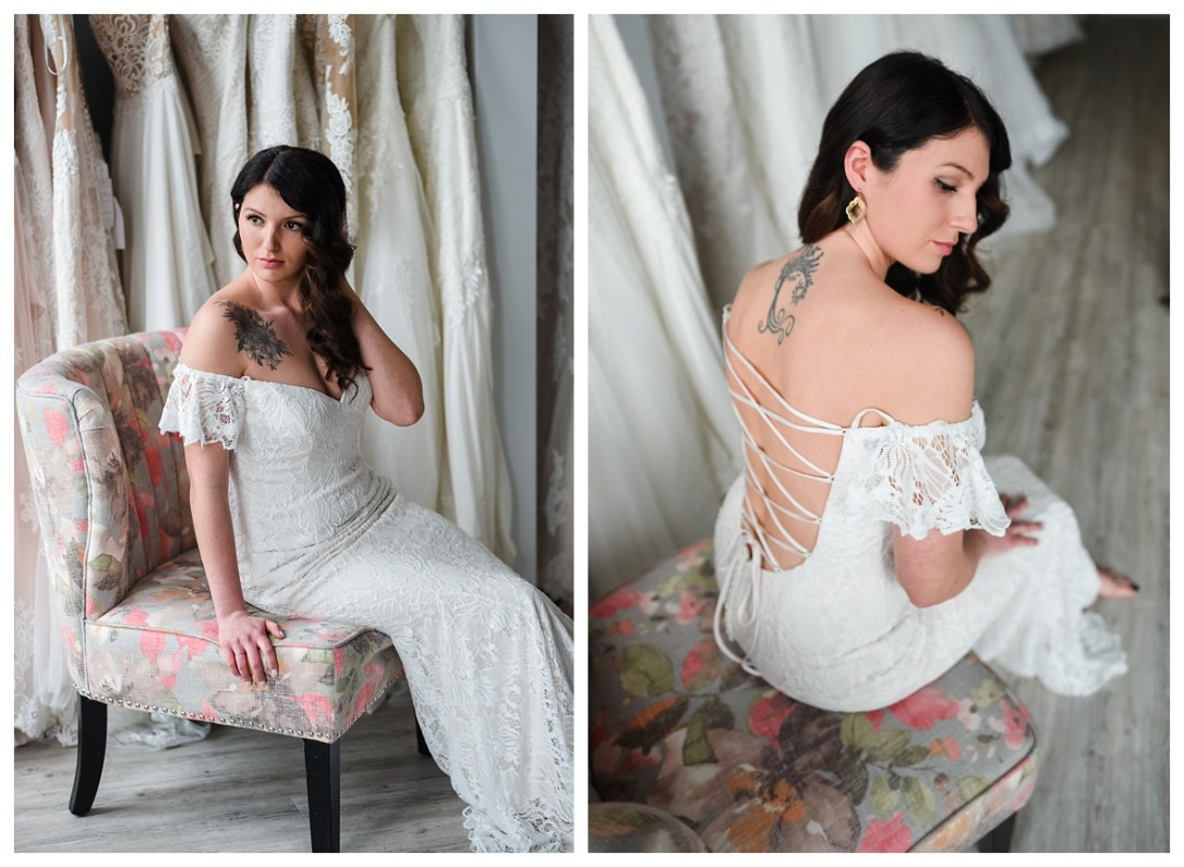 boho lace wedding dress in chattanooga