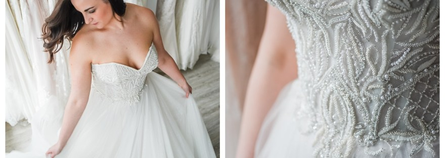 sweetheart beaded wedding dress