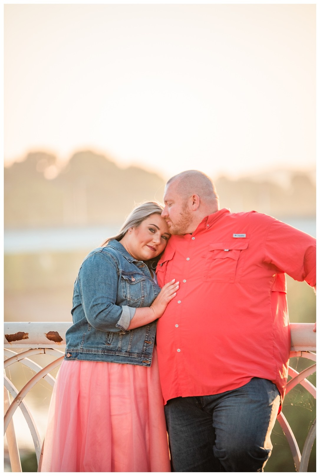 sunrise engagement session in chattanooga