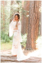 Yosemite Valley Bohemian Bride