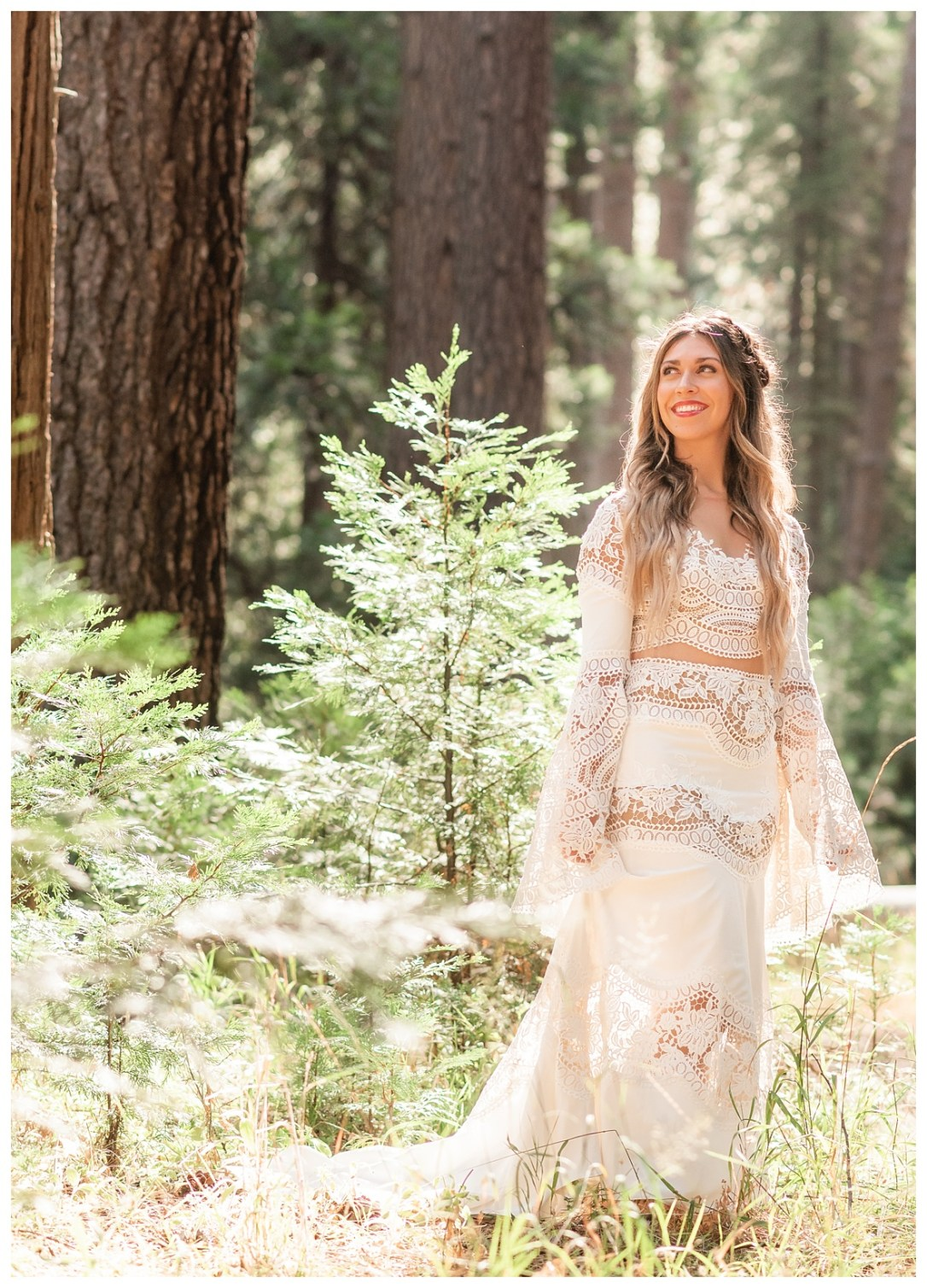 Yosemite Valley Bohemian Bride
