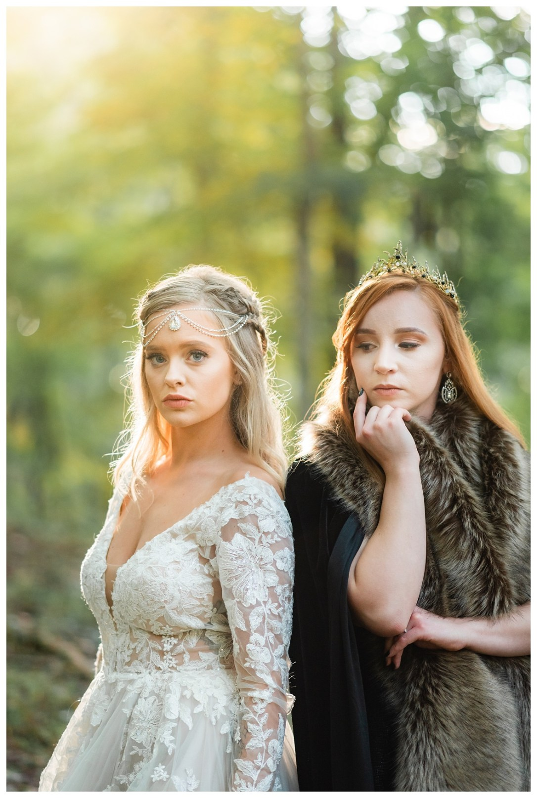 Daenarys and Sansa cosplay