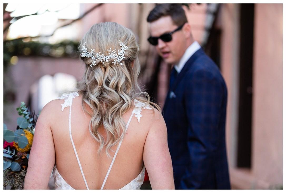 groom's jaw drops