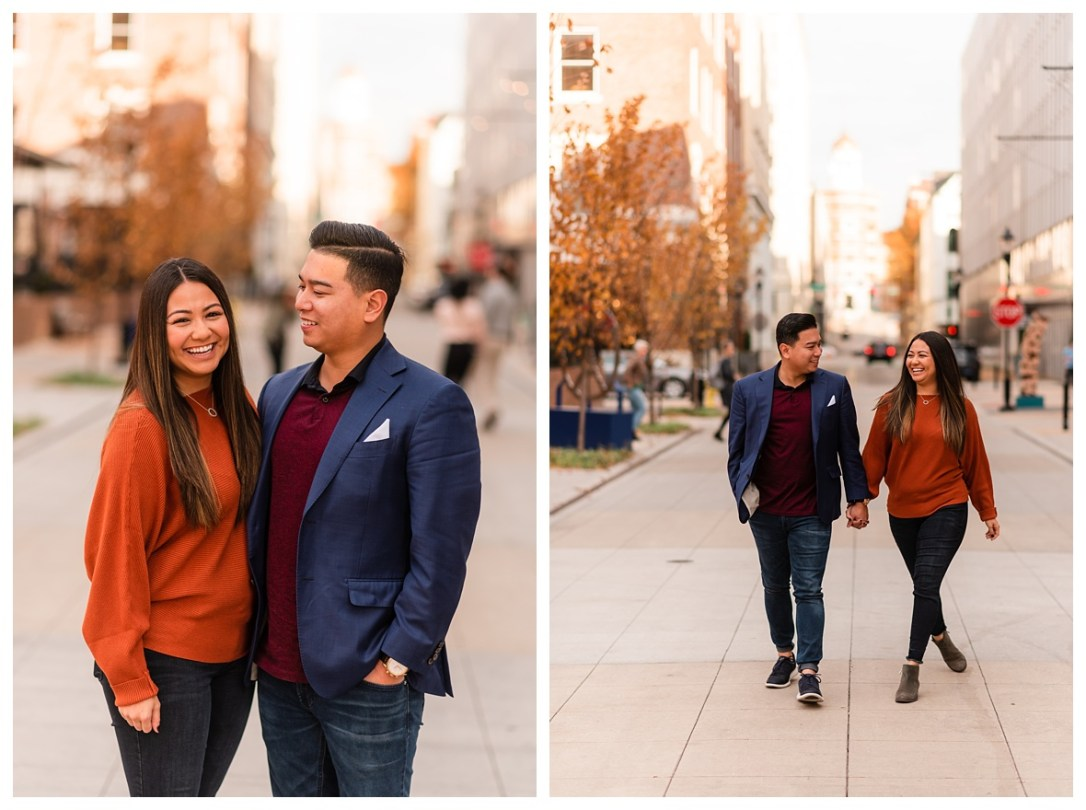 Chattanooga West Village Engagement Photos