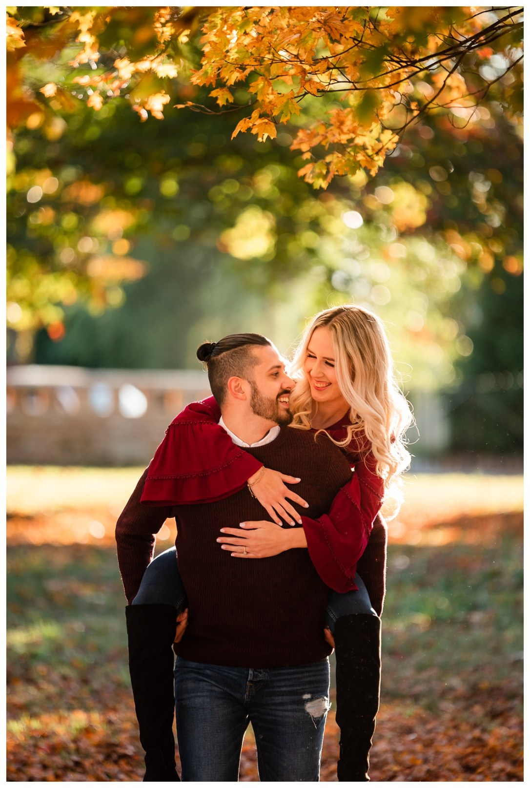 engaged couple in chattanooga
