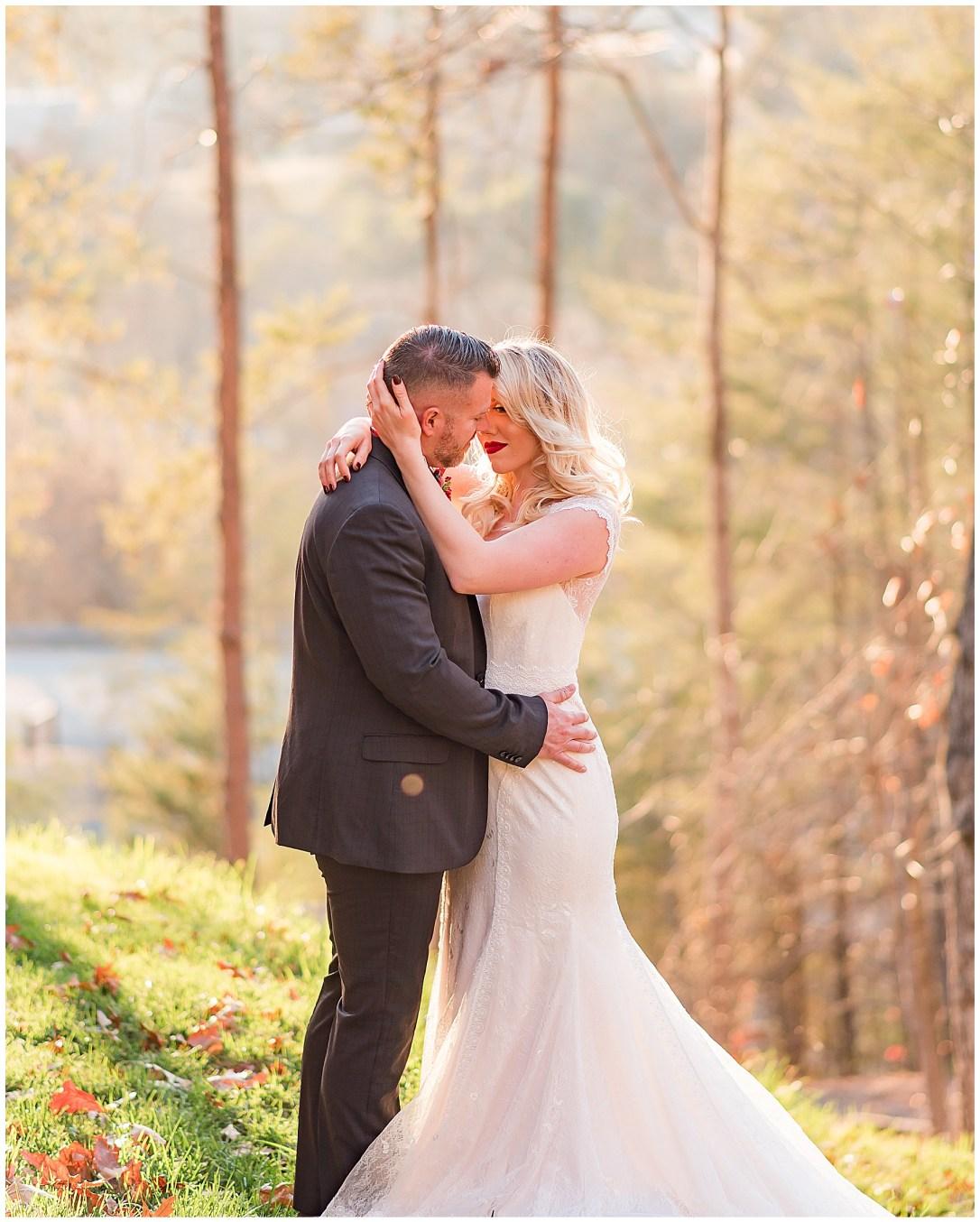 Gardens in the Gorge Romantic Wedding Photos
