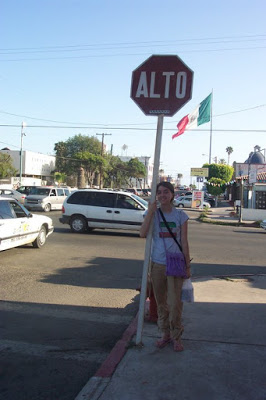 traveling around Ensenada, Mexico