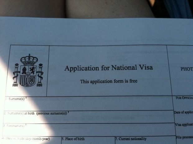application for student visa form