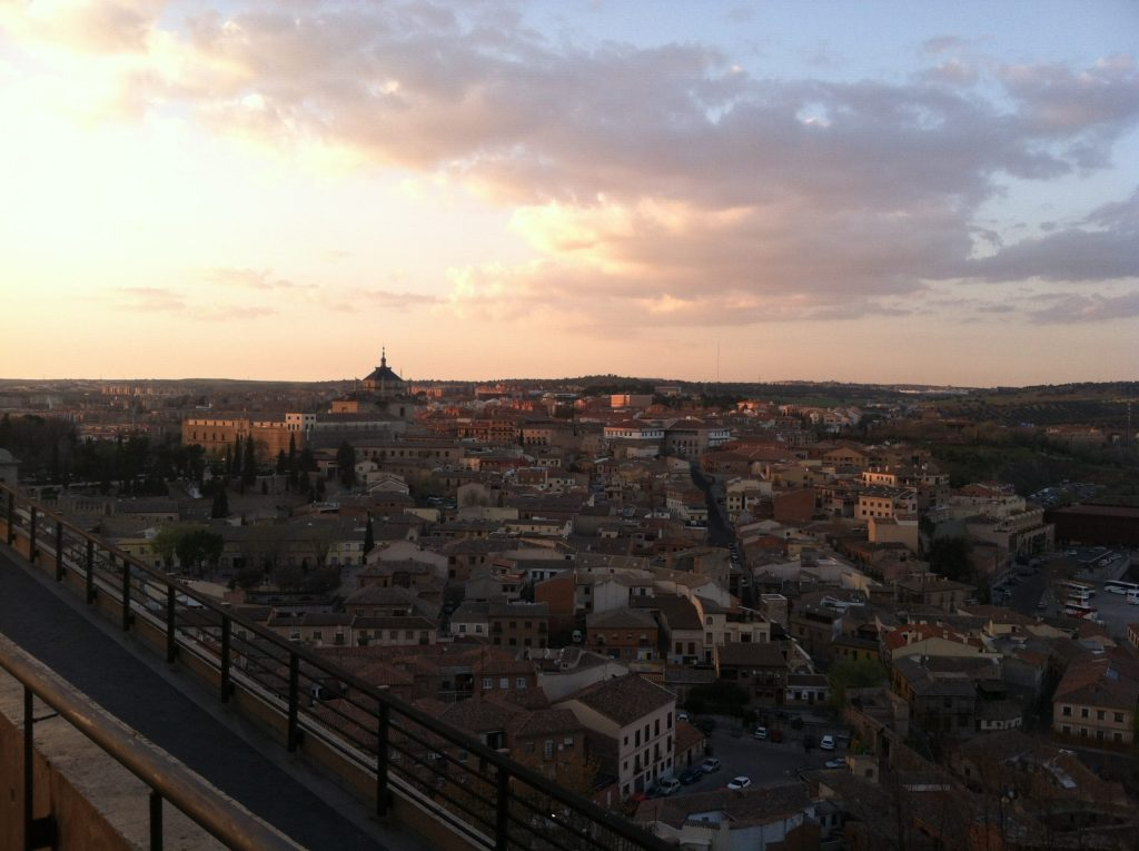 Views of the small town of Toledo, in Central Spain