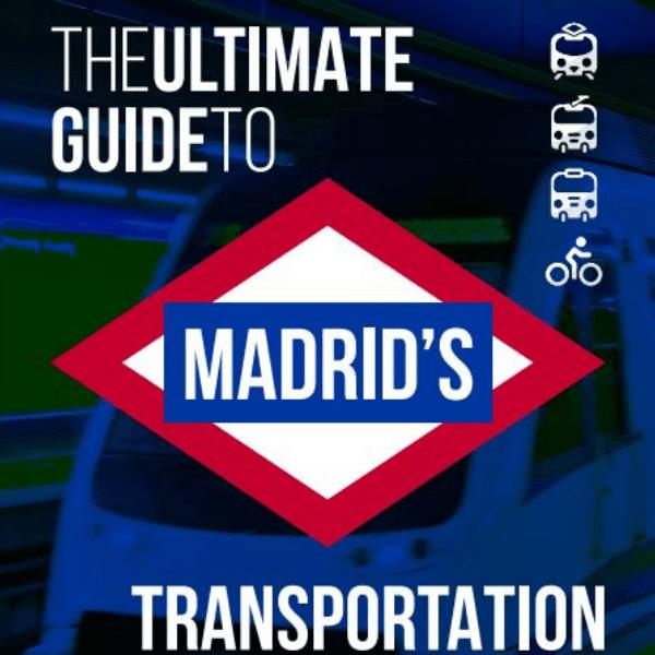madrid metro train book cover