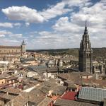 Toledo skyline as seen from the tower of the Iglesia de los Jesuitas