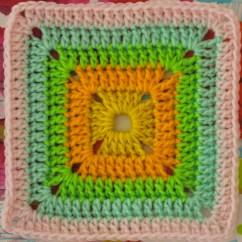 Crochet Square Motif Diagram Pattern 3 Phase 208v Motor Wiring Free Monday Solid Crocheted Sarah London