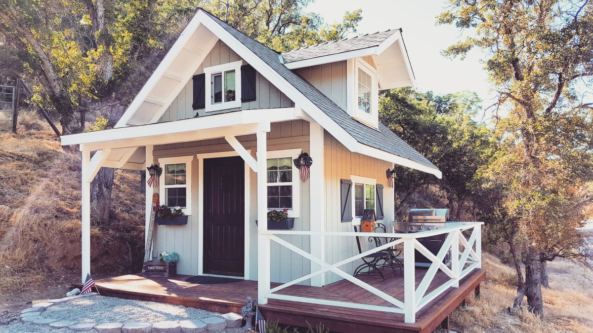 Glamping In A Tiny House