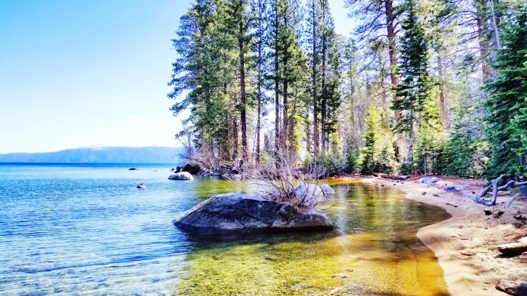 Lake Tahoe, Rubicon Trail, Hiking