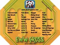 Find It – Eww Gross