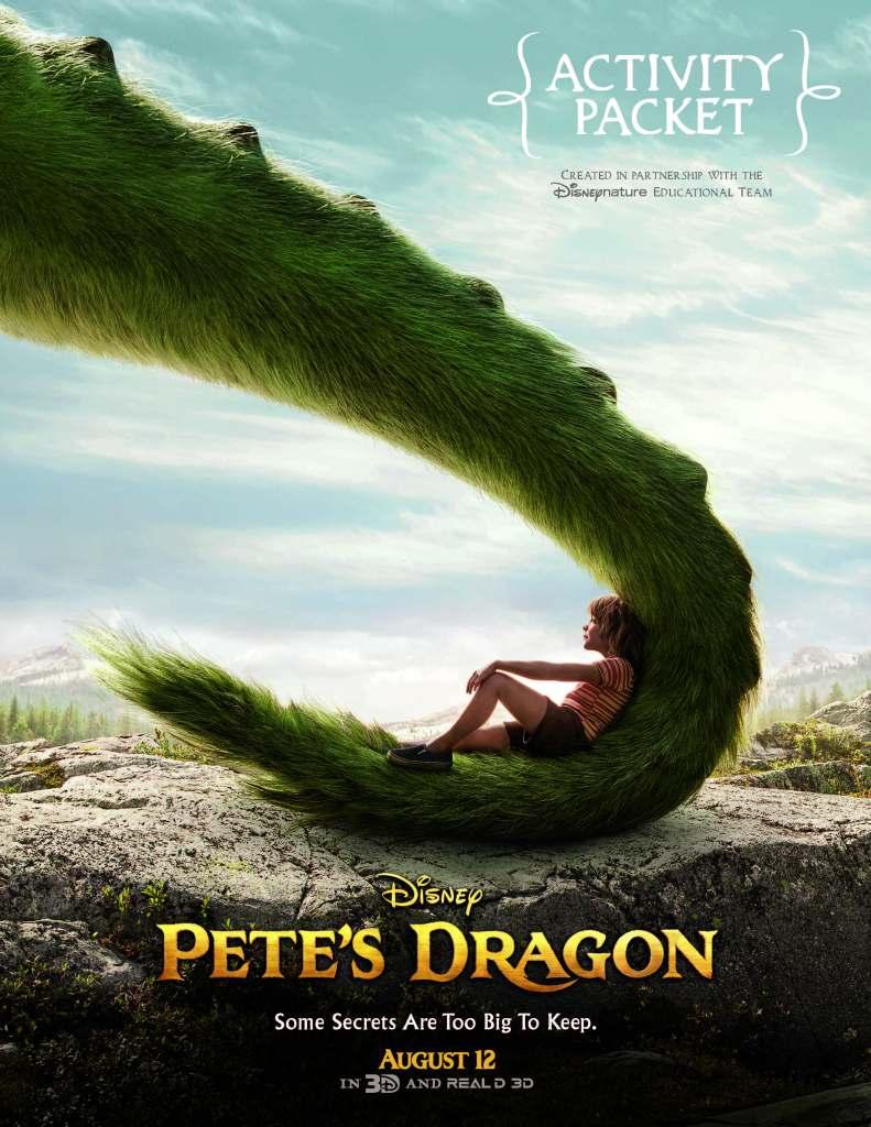 Pete's Dragon Movie Activity Fun!