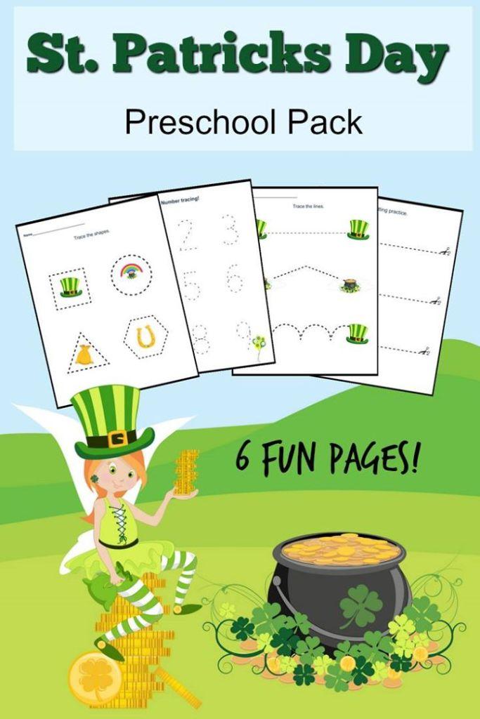 St Patrick's Day Preschool Pack
