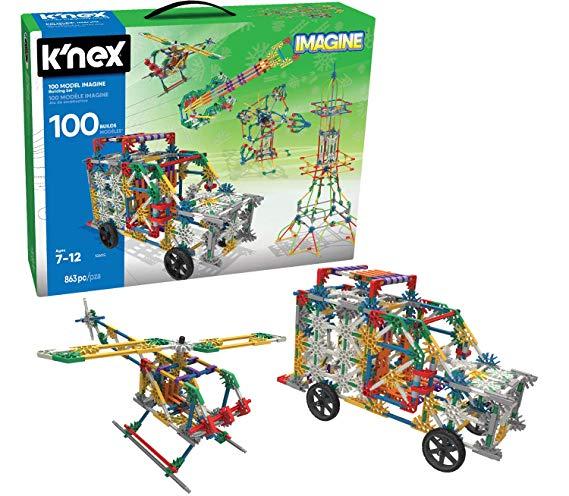 K'Nex 100 Model Building Set has 863 Pieces!