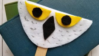 Harry Potter Study Unit and Hedwig Owl Craft for Kids