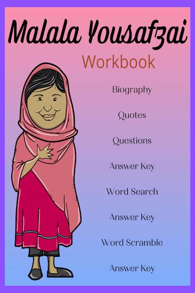 Get your FREE Malala Yousafzai Study Unit