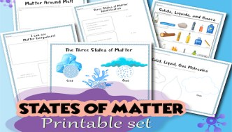Three States of Matter For Kids: Gas, Liquid, and Solid