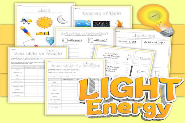 Light Energy Lesson Plan: All About Light Energy