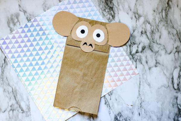 monkey puppet
