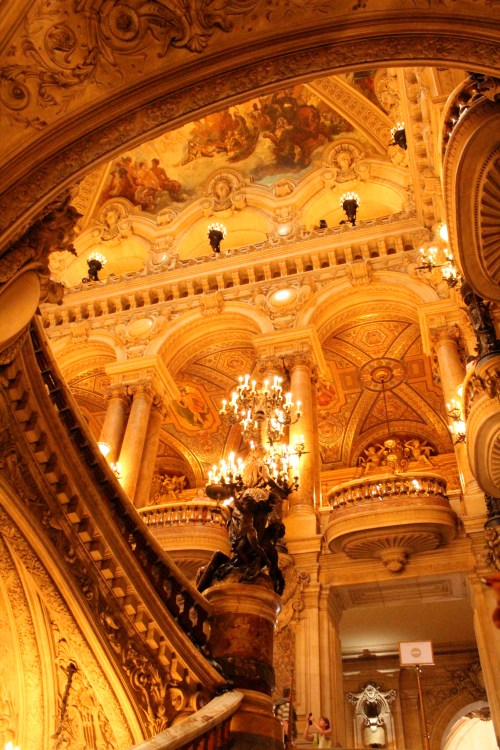 Just turning the corner to The Grand Staircase. Breathtaking, stunning.