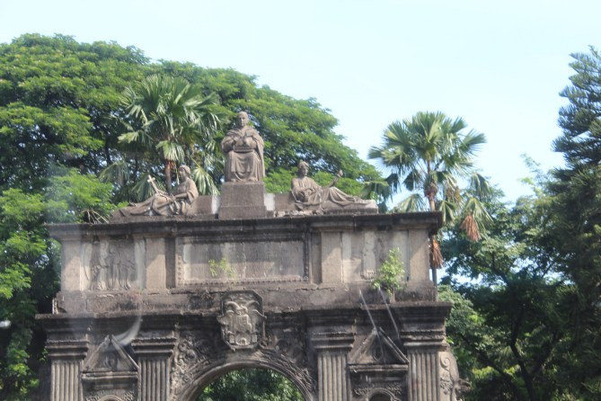Arch entry, University of Santo Tomas, Manila, Philippines