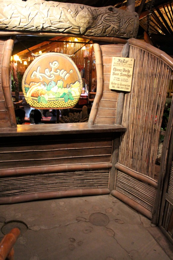 Entrance, KaLui Restaurant, Puerto Princesa, Palawan, Philippines