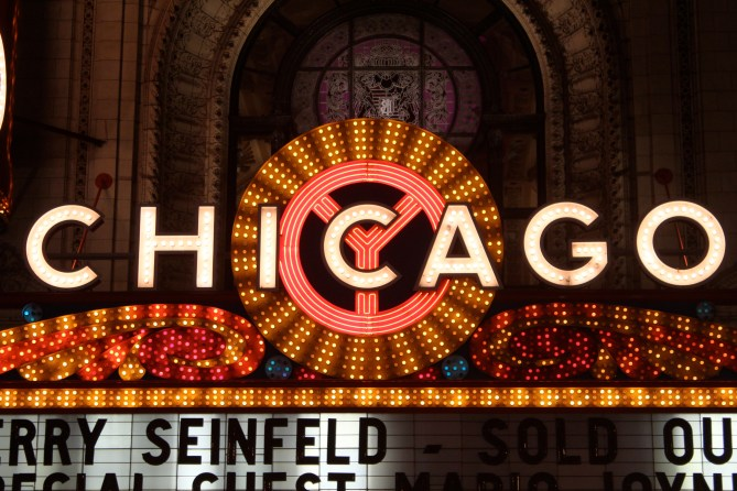 Chicago Theatre marquee, State Street