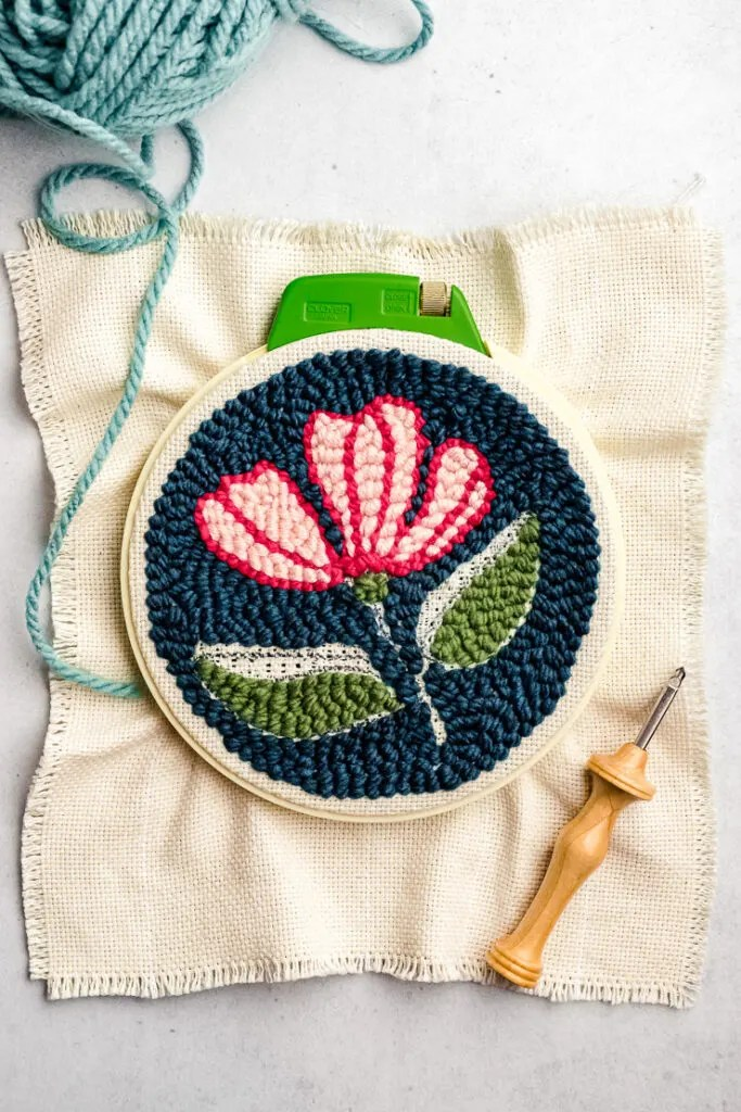 What Fabric To Use For Embroidery : fabric, embroidery, Punch, Needle, Beginners
