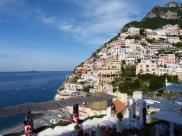 Terrace Le Sirenuse and Positano