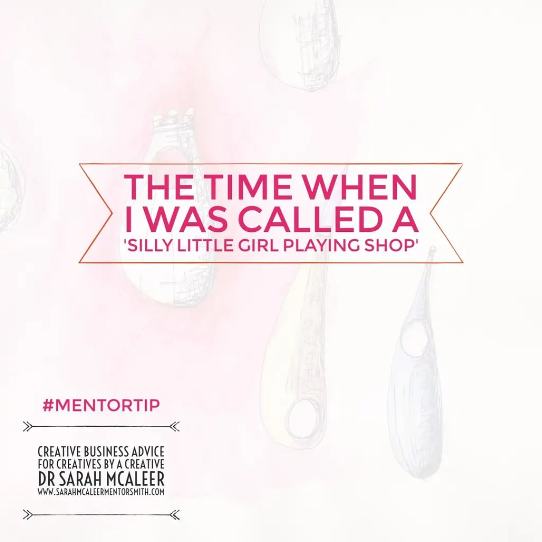 The Time When I Was Called A 'Silly Little Girl Playing Shop'!!!