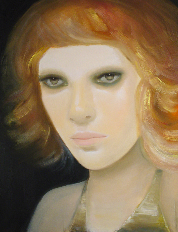 Redheaded Figurative painting by Sarah McGinity