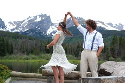 Wedding in Rocky Mountain National Park, CO