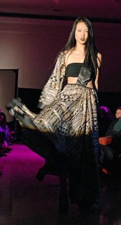 Student fashion show at CU Boulder